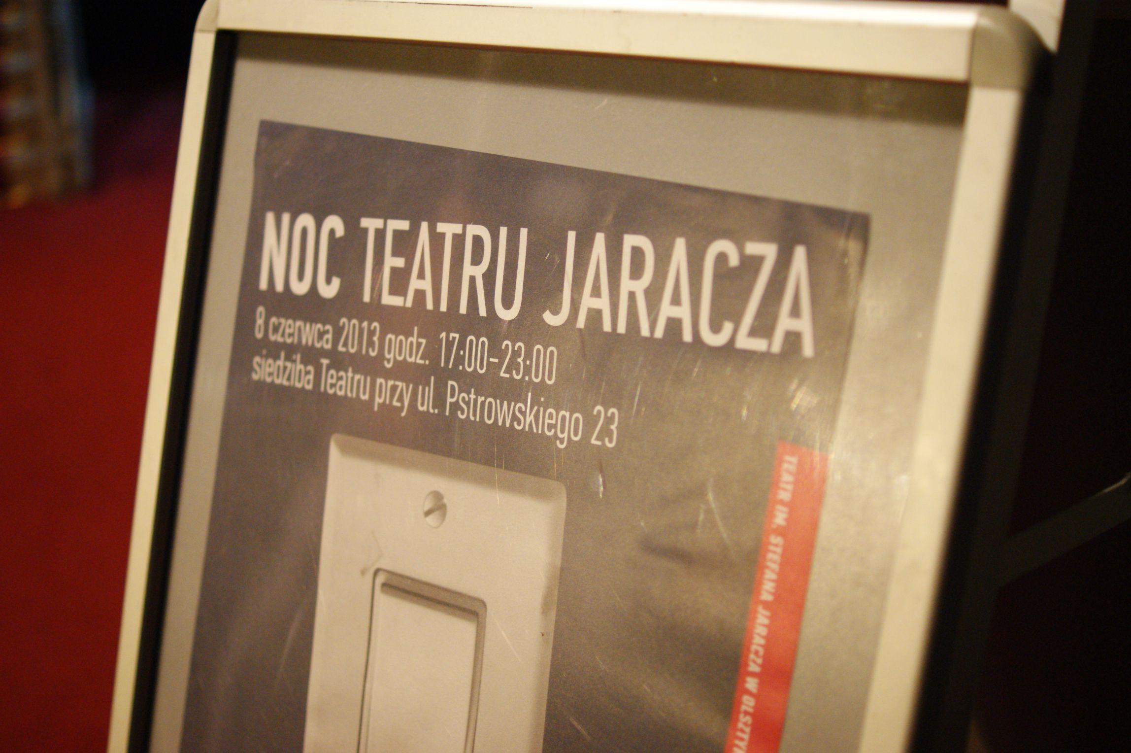 Noc Teatru Jaracza