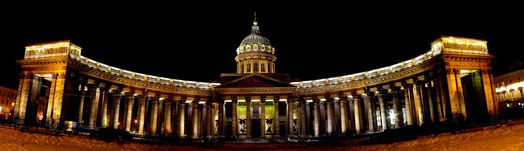 Petersburg - Sobór Kazański