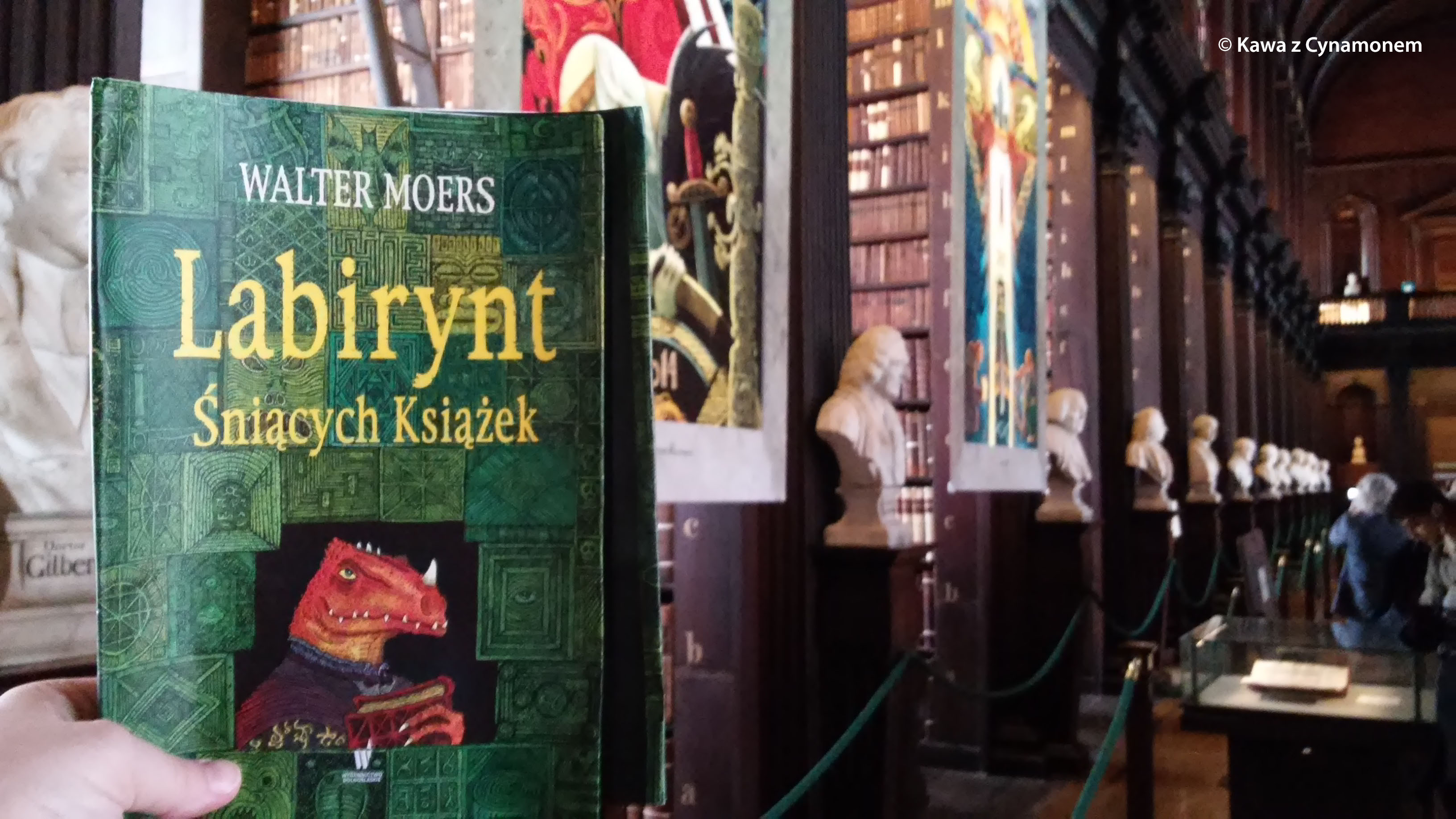 Labirynt Śniących Książek, Walter Moers