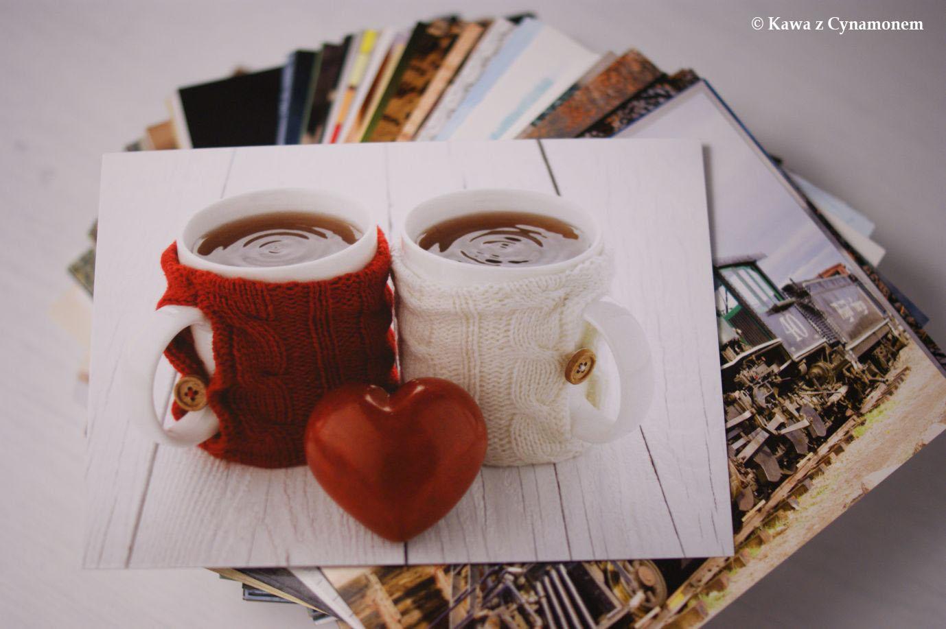Kawa z Cynamonem - pocztówki