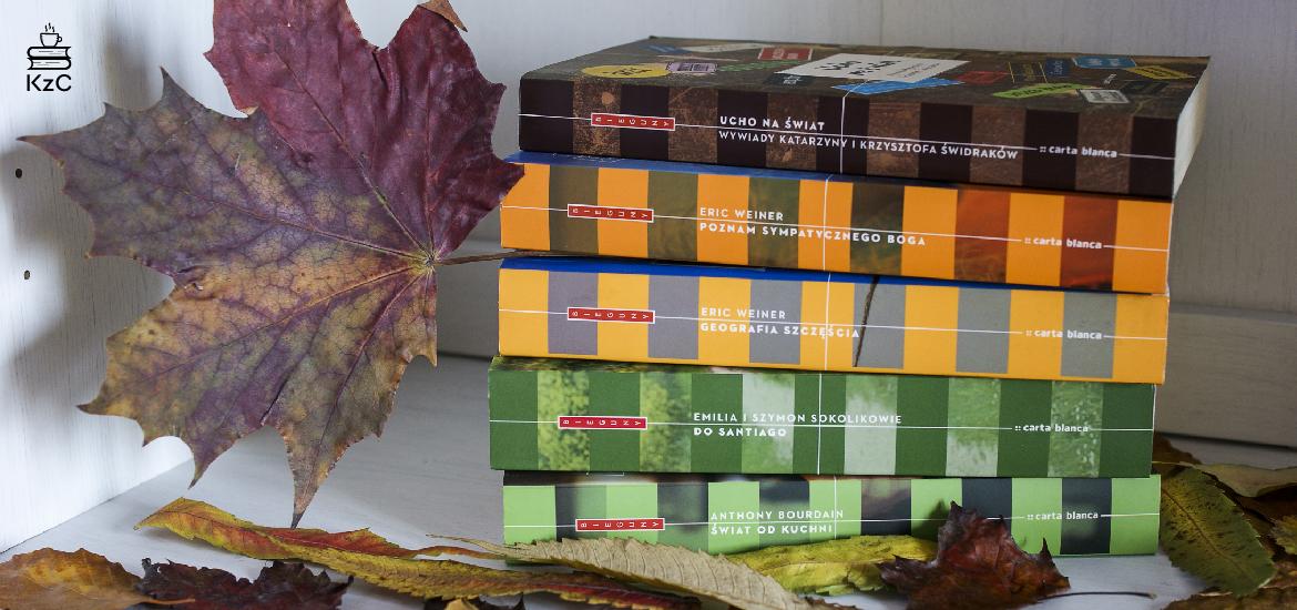 Kawa z Cynamonem - Jesienny tag książkowy