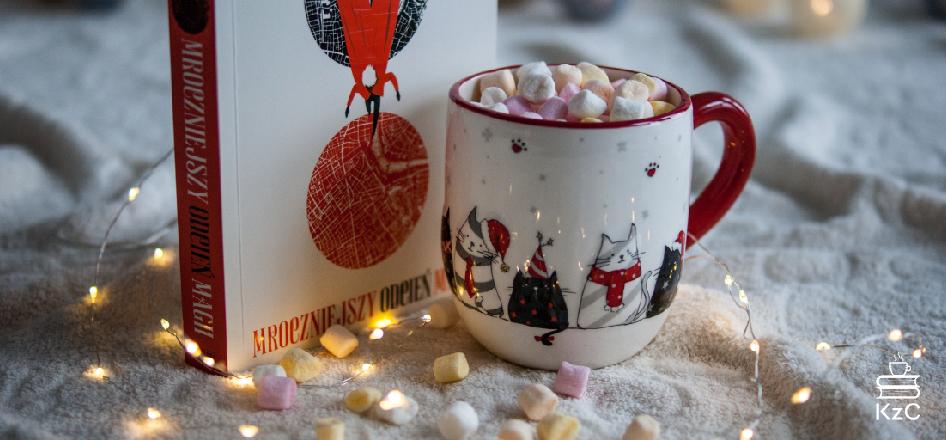 Kawa z Cynamonem - Zimowy tag książkowy